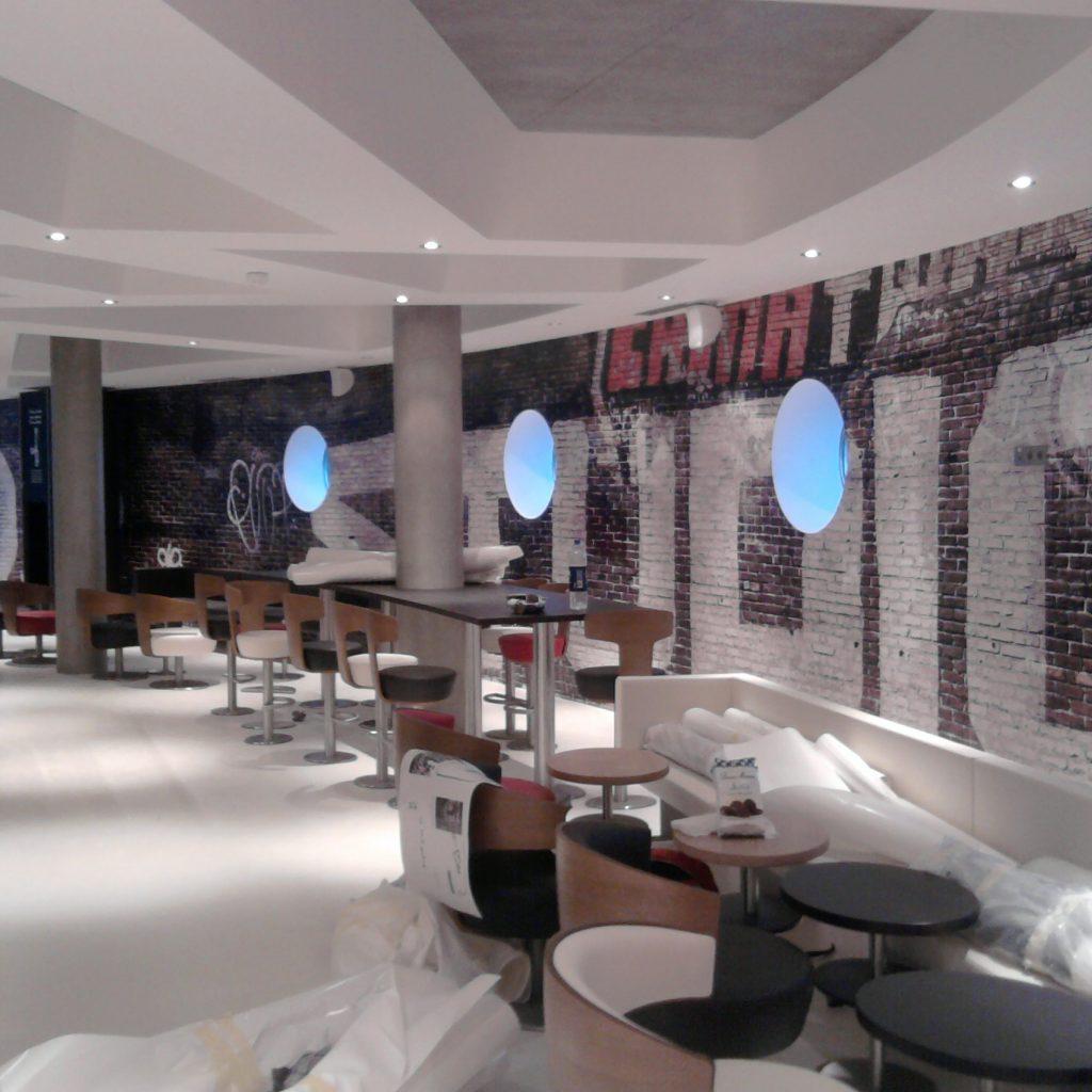 Agencement intérieur Mcdonald's Monaco - tous nos produits
