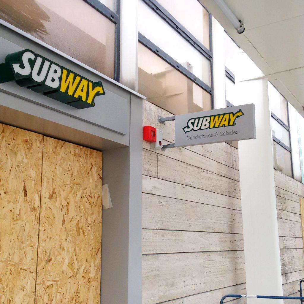 Drapeau Subway - tous nos produits