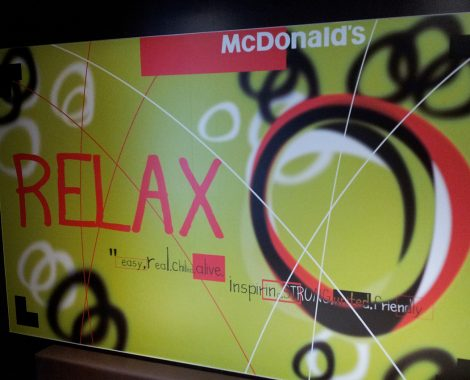 Décoration murale intérieure MacDonald's