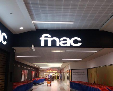 enseigne publicitaire - FNAC - Paltte Publicitaire