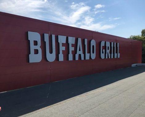 Lettres découpées Buffalo Grill