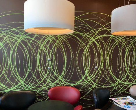 Décoration murale abstraite